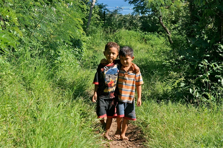 Good friends in Pemuteran