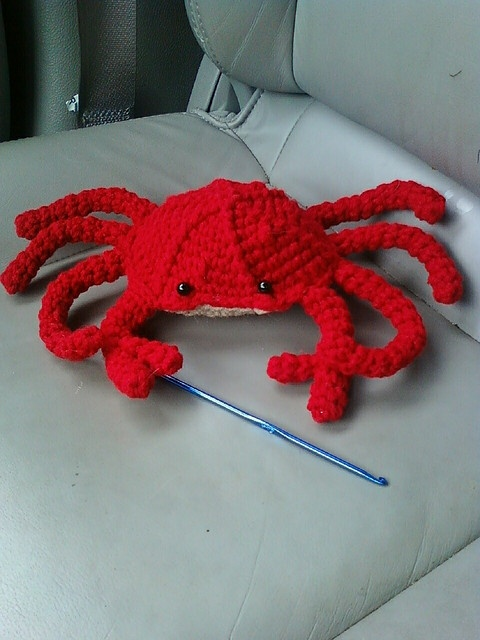 Crab By No1pugmom Via Flickr Crochet Critters