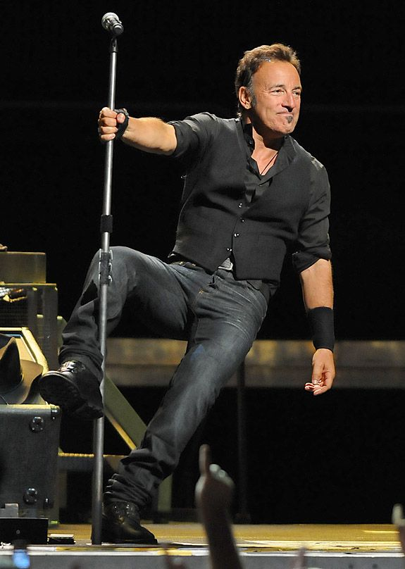 Bruce Springsteen and the E Street Band performed a show on Wednesday ...