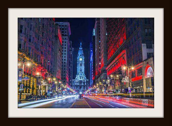 Philadelphia Print Philly Art Philly Art City Prints Etsy Philadelphia Print City Prints Philadelphia Wall Art