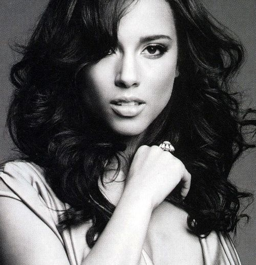 Alicia Keys- what a beautiful voice and person.