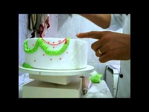 Pasta de Leite - Cobrindo Bolo Retangular /Quadrado - YouTube