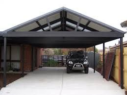 Metal carport...use as patio cover