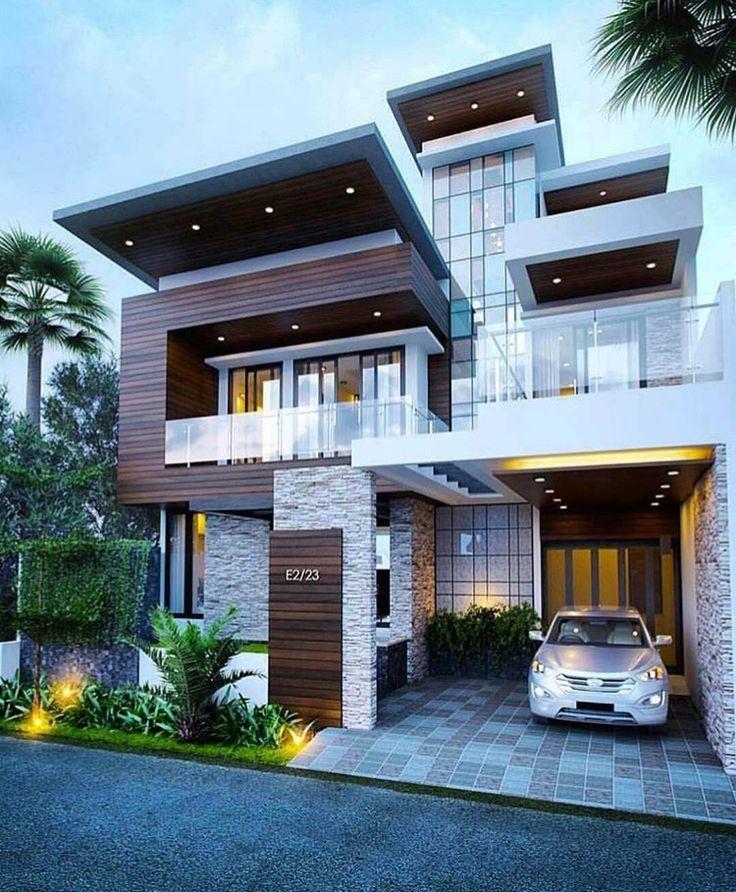 7 best exterior elevation images on Pinterest | House design, Modern ...
