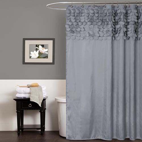 Lillian Gray Shower Curtain