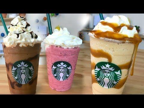 ¡Haz Frappucinos de Starbucks en tu Casa!   RebeO - YouTube