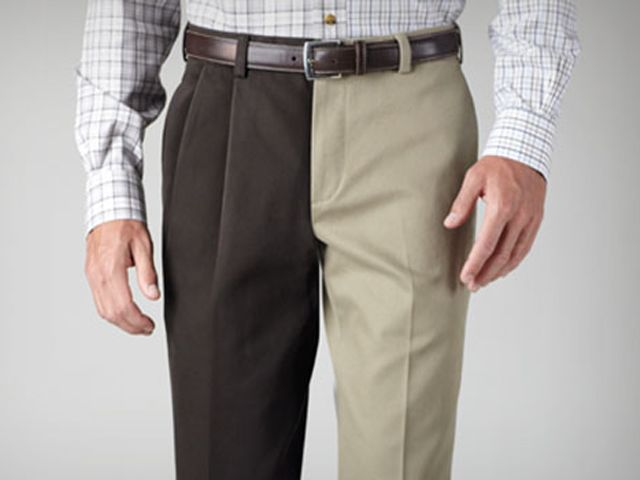 Suit Pants Pleated Or Flat | Gpant
