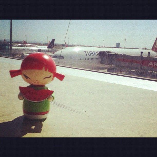 #momiji #momijisevgiyiyay #airplane #airport