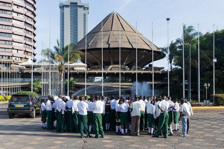 Kenyatta International Conference Center, Nairobi, Kenya. 1966–1973. Architect: Karl Henrik Nøstvik. Photo by Iwan Baan.