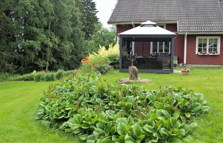 www.lasipaviljonki.fi Lucia-Lasipaviljonki toimitetaan käyttövalmiina paikalleen- helppoa hankinta! www.glass-gazebo.com