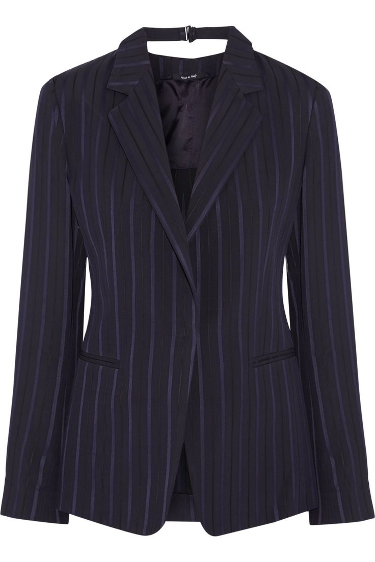 Paneled satin and twill blazer | MAISON MARGIELA | Sale up to 70% off | THE OUTNET