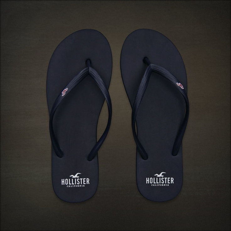 Hollister Co. Bettys Classic Beach Flip Flops These are the best flip flops in the world.