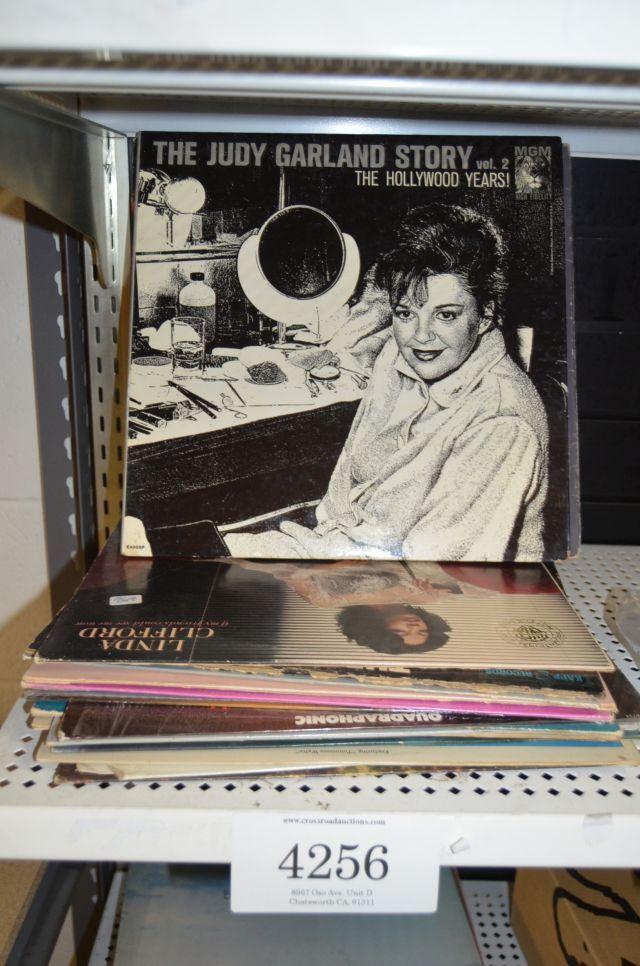 Vintage Vinyl records lot including artists such as Abba, Leroy Gomez, Henry Gaffney, tuxedo Junction, Linda Clifford, talk to Sarah, Elton John - 20 lps