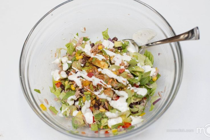 This Mexican Tuna Salad Recipe is a great, healthy meal that will keep you full for hours. A great combination of veggies, loaded with a ton of protein, it's a perfect meal to have after a workout. Optionally, I would add some chili chips or any other chips to the salad. It will add some crunch and that extra flavor to the salad. Here are some other tuna recipes that you should try, Tuna Cobb Salad and Panera Bread Inspired Tuna Sandwich.