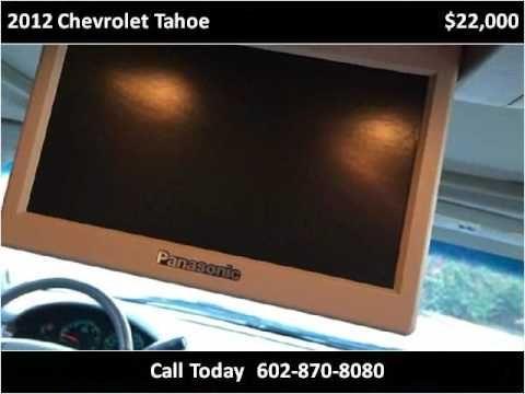 2012 Chevrolet Tahoe Used Cars Phoenix AZ