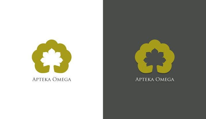 Logotype for Omega Drugstore. #logo #logotype #id #identity #design #synkro #synkrointeractive #carbone #omega #lodzdesign #lodz