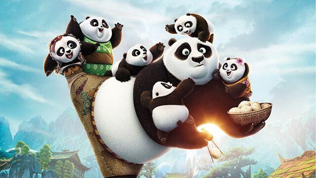 Kung Fu Panda 3. animációs film a vasi mozikban!