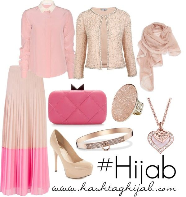 WHAT A SUPER BEAUTIFUL PINK!!!!!  Hashtag Hijab Outfit #50