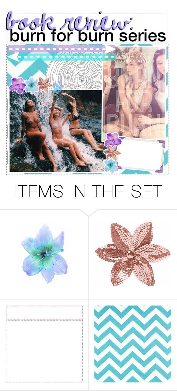 """""""♡ book review: burn for burn series"""" by tightrope-of-weird ❤ liked on Polyvore featuring art and contemporary"""
