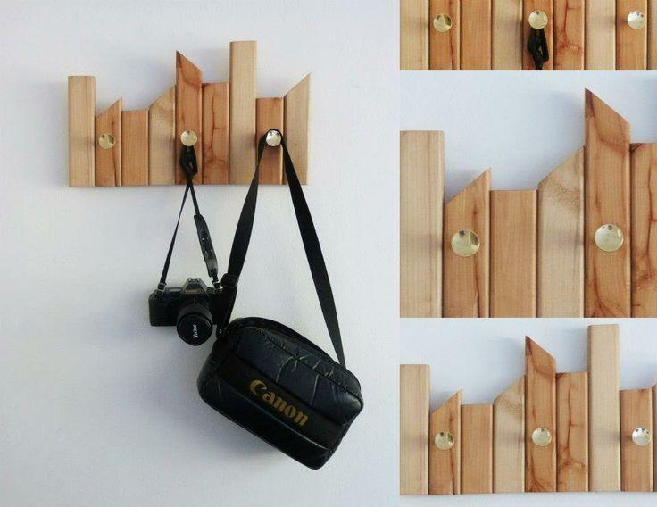Percheros osvaldo muebles de madera y proyectos - Percheros de madera ...