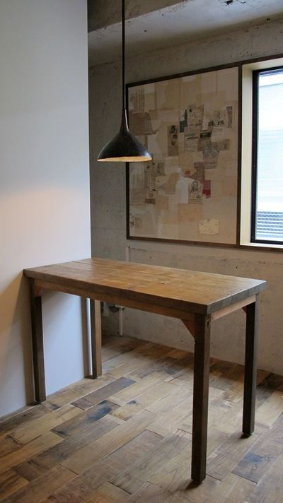 table- handmade  http://cabanon.chicappa.jp/blog/?eid=751#