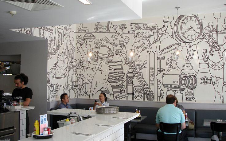 one/ two: Byron Hamburgers / Mr Bingo   Design Graphique
