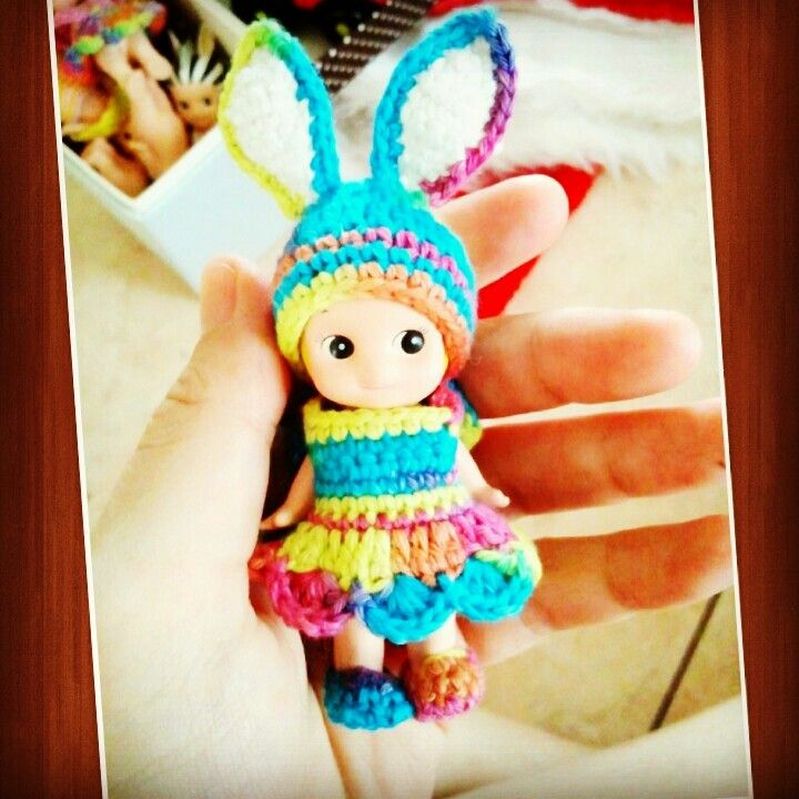 My toys collections.. cute lil kewpie sonny angel, Japan..
