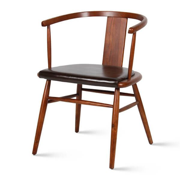 Vintage Dining Chairs | Solid Wood Dining Armchairs ...