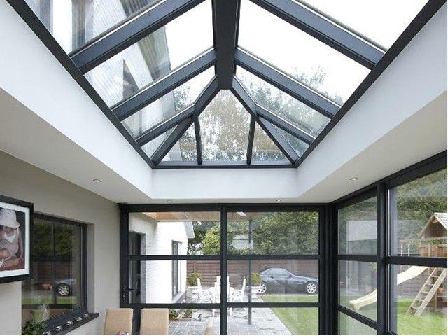 116 best images about terrassen veranda 39 s on pinterest - Veranda met dakraam ...