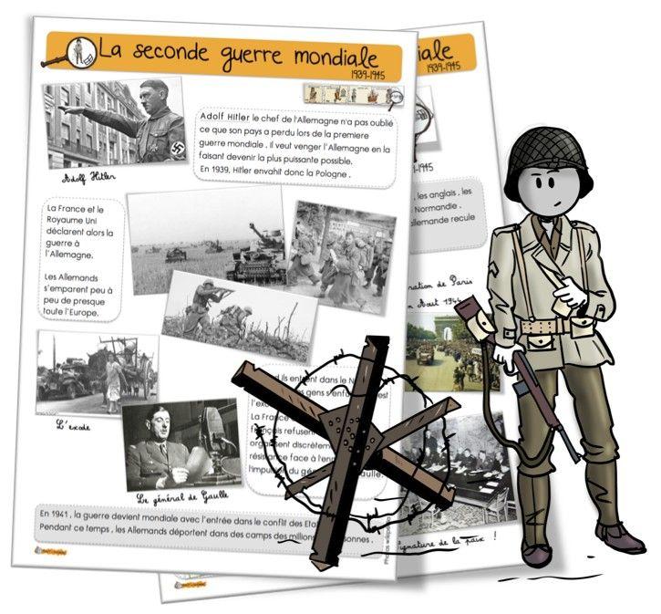 CE1 : La seconde guerre mondiale - Bout de gomme