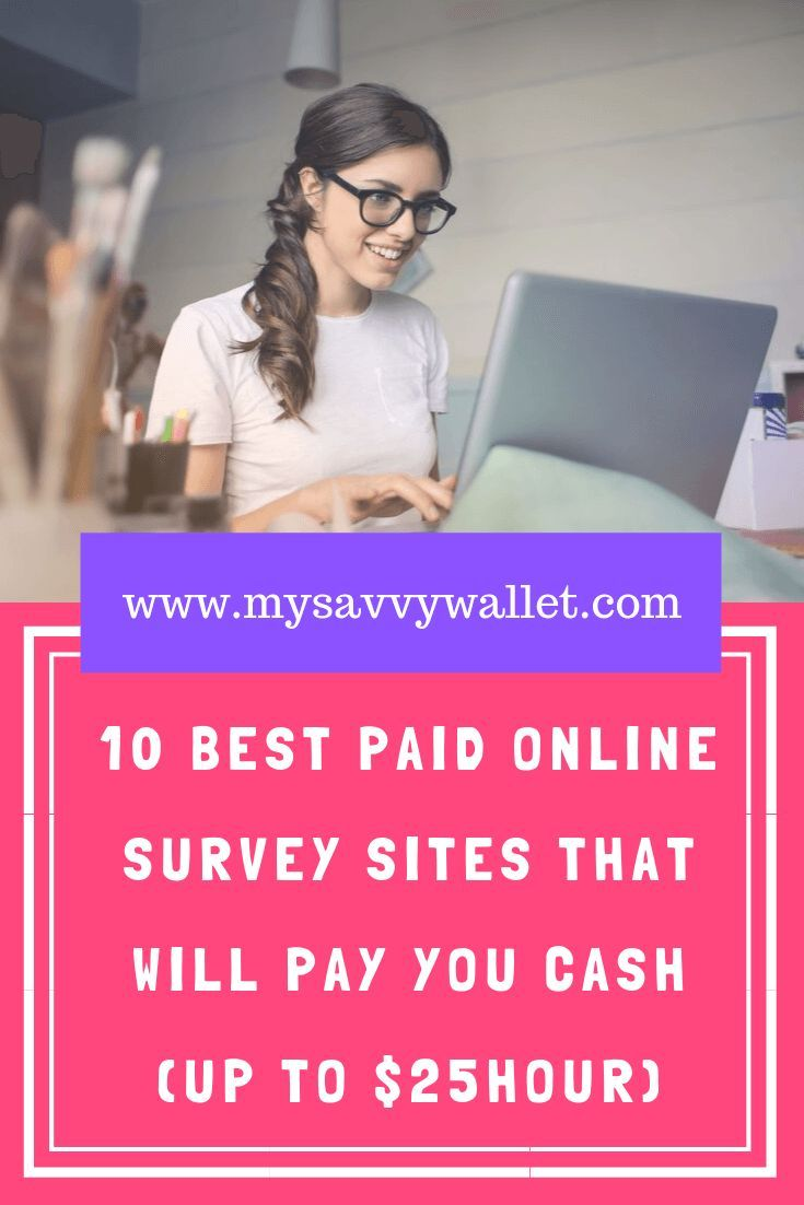 10 paid online survey sites that will pay you cash…