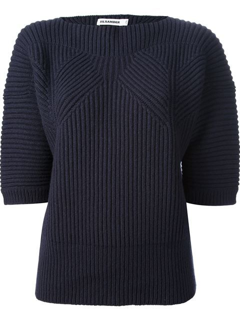 Shop Jil Sander ribbed oversize jumper in Biedermann En Vogue from the world's best independent boutiques at farfetch.com. Over 1000 designers from 60 boutiques in one website.