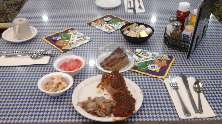 On the menu for the German Luncheon were Brats 'n Beer/w Sauerkraut, German Potato Salad, Soft Pretzels, Beer Cheese Soup, Red Cabbage, Beer Braised German Short Ribs in a Red Wine Gravy, German Egg Noodle Potato Cream Soup and Spatzel.
