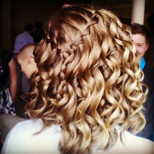 13 Best Images About 8th Grade Promotion Hair On Pinterest