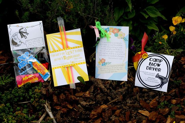 CdotLove Design { by Kristin Clove }: girl's camp handouts!