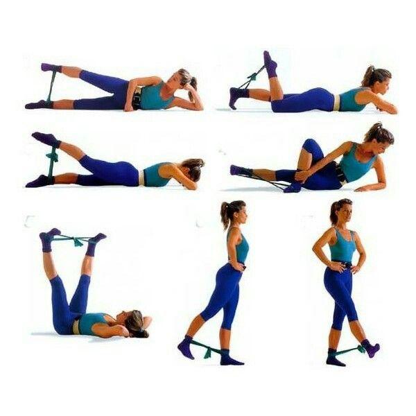 Какие упражнения есть чтобы похудела попа
