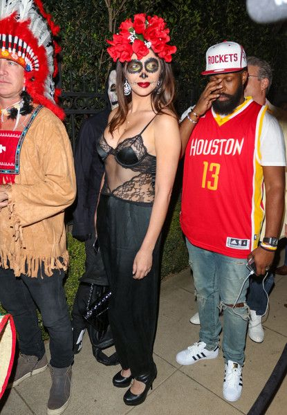 Brittny Gastineau Photos Photos - Brittny Gastineau is seen attending the Casamigos Tequila Halloween Party . - Celebrities Attend the Casamigos Tequila Halloween Party