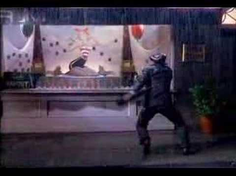 """I'm Singing in the rain"", Gene Kelly"
