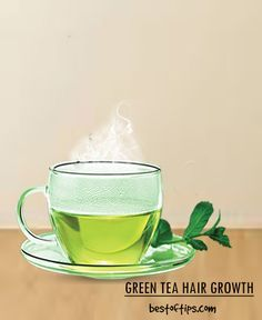 Green tea has numerous health benefits, the most well-known being weightloss benefit. Did you know that green tea is beneficial for your hair too? Recent studies have concluded that green tea has hair growth stimulating properties!  Pregnancy, stress, being unhygienic, dandruff etc. can make your hair weak and prone to breakage and hair fall. Here is how you should use green tea for stimulating hair growth along with its benefits: BENEFITS:  - Green tea has anti-inflammatory properties…