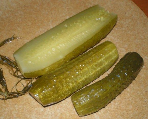 Kovászos uborka télire 2