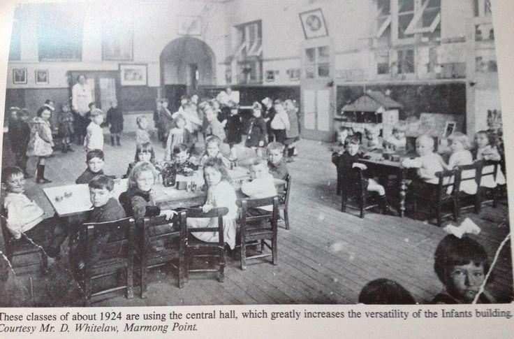 Infants school at West Wallsend