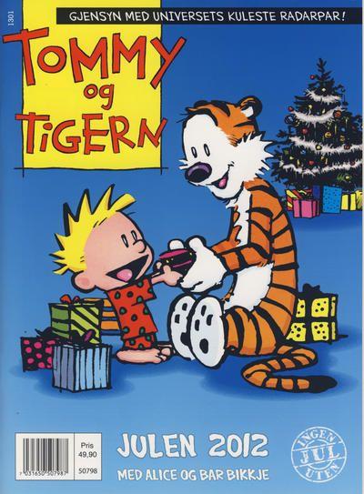 GCD :: Cover :: Tommy og Tigern julehefte [Tommy & Tigern julehefte] #2012