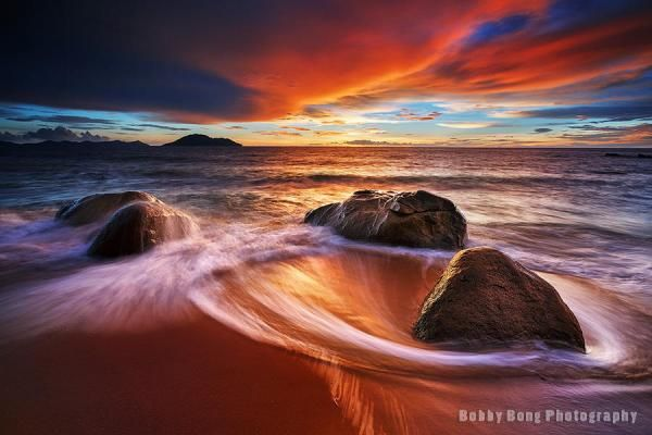 Ring of fire - Landscape Photography by Bobby Bong  <3 <3