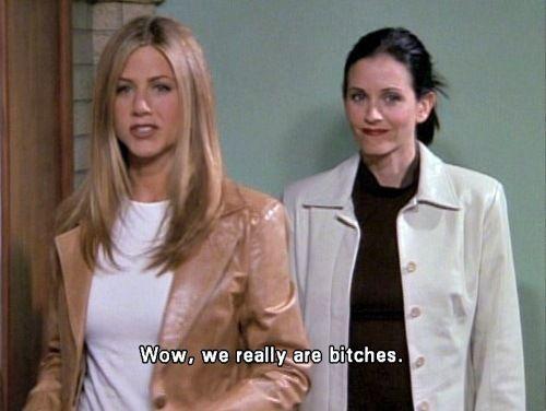 Rachel and Monica | Friends