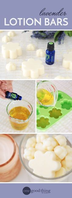 Lotion bars are great for dry skin, convenient to carry around, and a lot less messy than traditional lotion. They're also super easy to make!