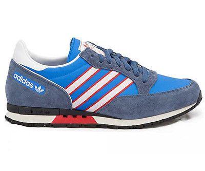 adidas retro sneaker phantom blau
