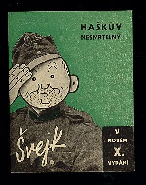 Book cover with Švejk