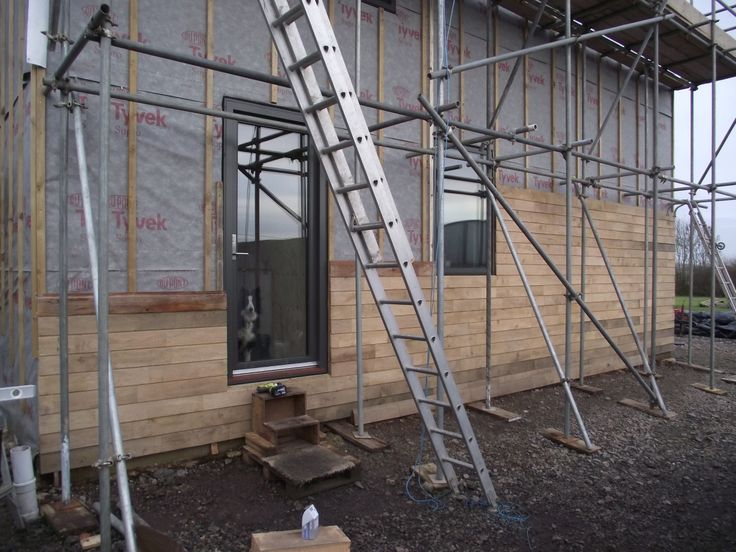 WikiHouseUK // 2015 // Midlands // First Wiki Farmhouse | The world's first Wikihouse home |  cladding