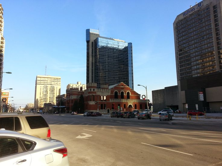 Picture of the Delta London Armouries Hotel, taken close to Dundas St. & Wellington Rd.