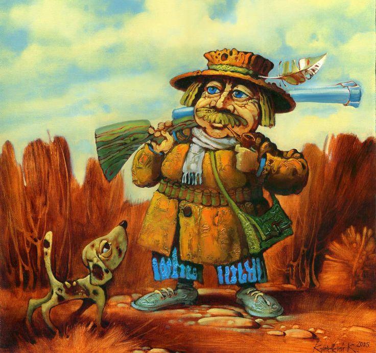 Живопись маслом на холсте - работы Константина Канского   Галерея Константина Канского
